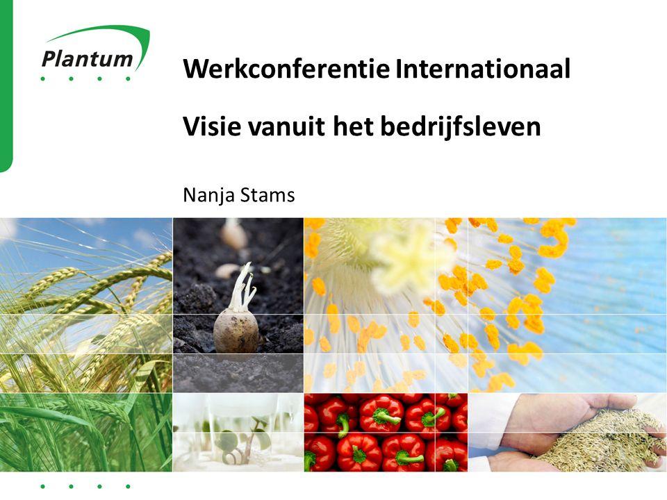 Werkconferentie Internationaal Visie vanuit het bedrijfsleven Nanja Stams