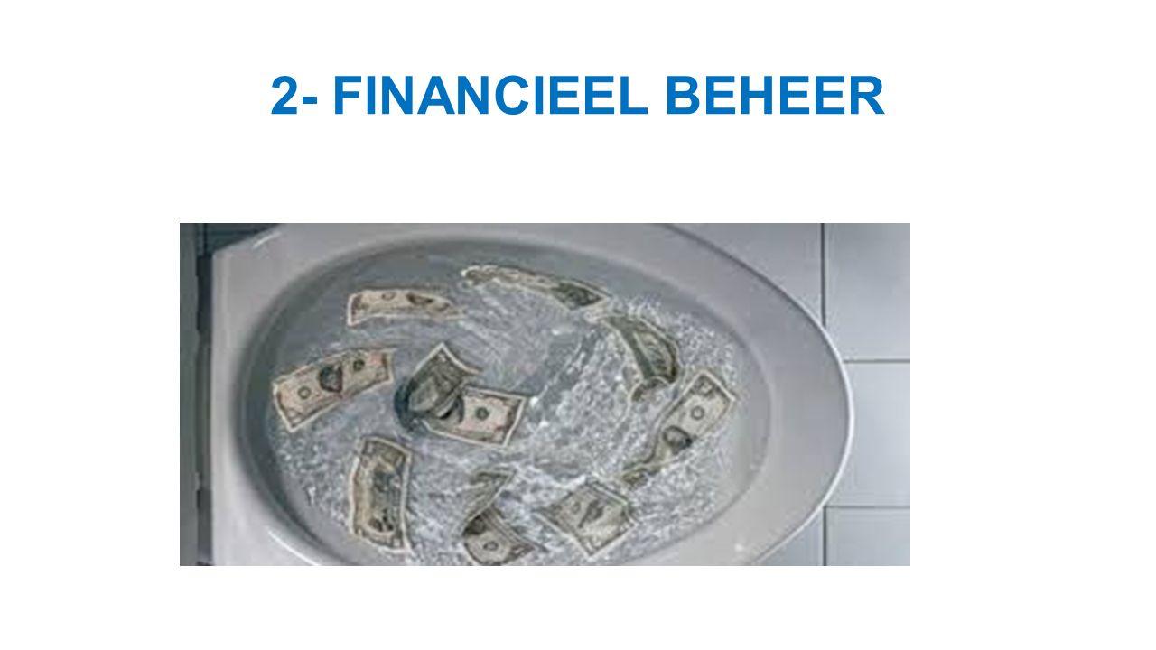 2- KARAKTERISTIEKEN VAN FINANCIEEL BEHEER ADMINISTRATIEVE CHAOS - Allerhande administratieve chaos in overheidsdepartementen → WIJ KUNNEN HET ZELF .