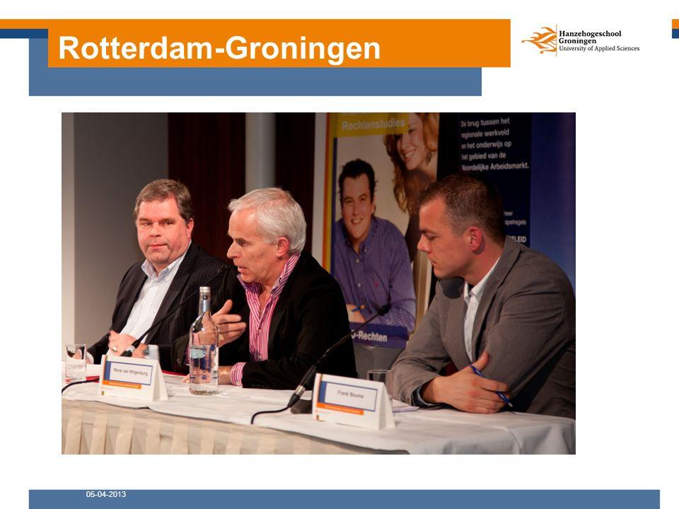 Rotterdam-Groningen 05-04-2013