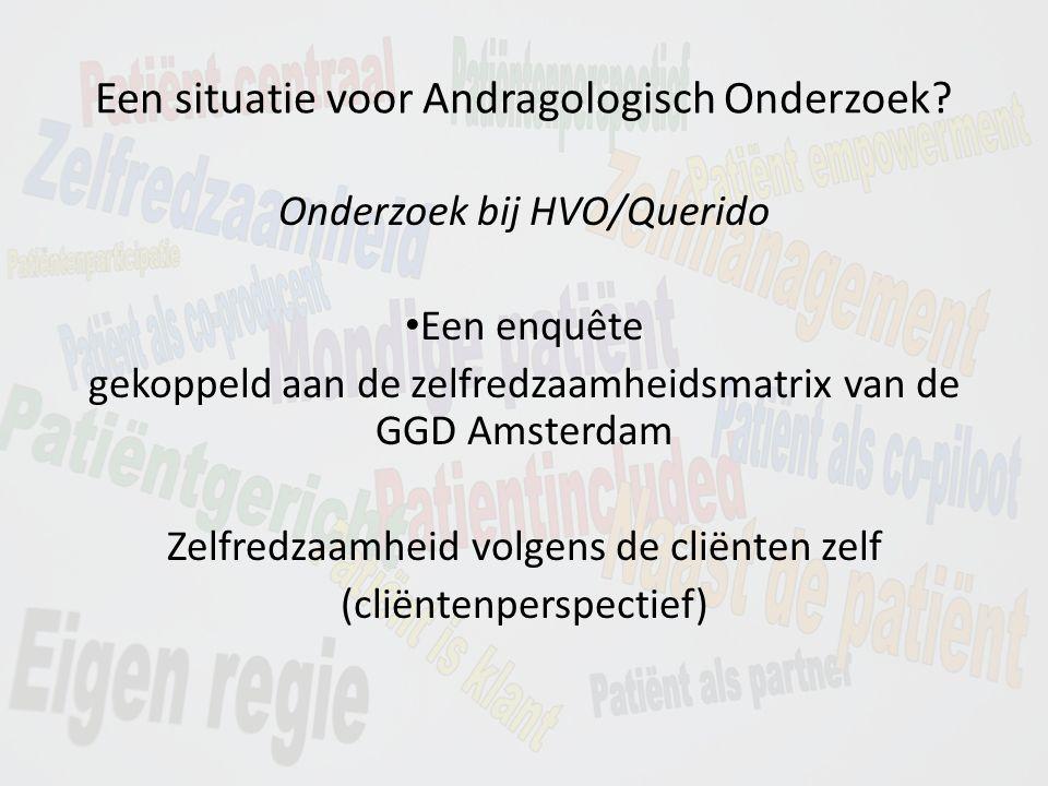 Een situatie voor Andragologisch Onderzoek.