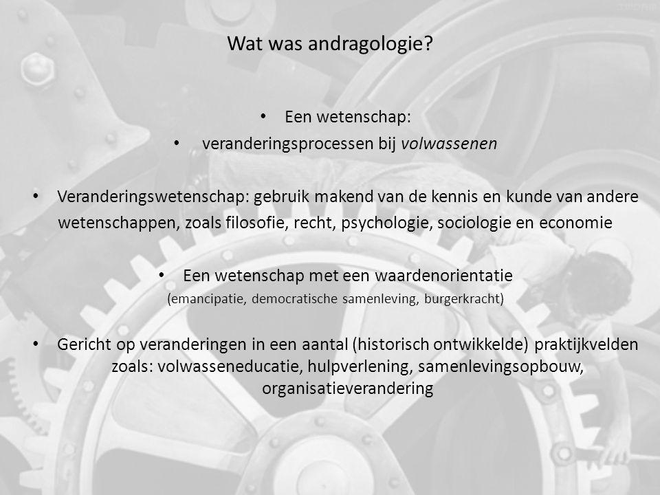 Terug naar de Andragologie Theorie Van Zelfredzaam naar Samenredzaam Sociale omgeving (Gal'perin 6, Vygotsky 7, ……….