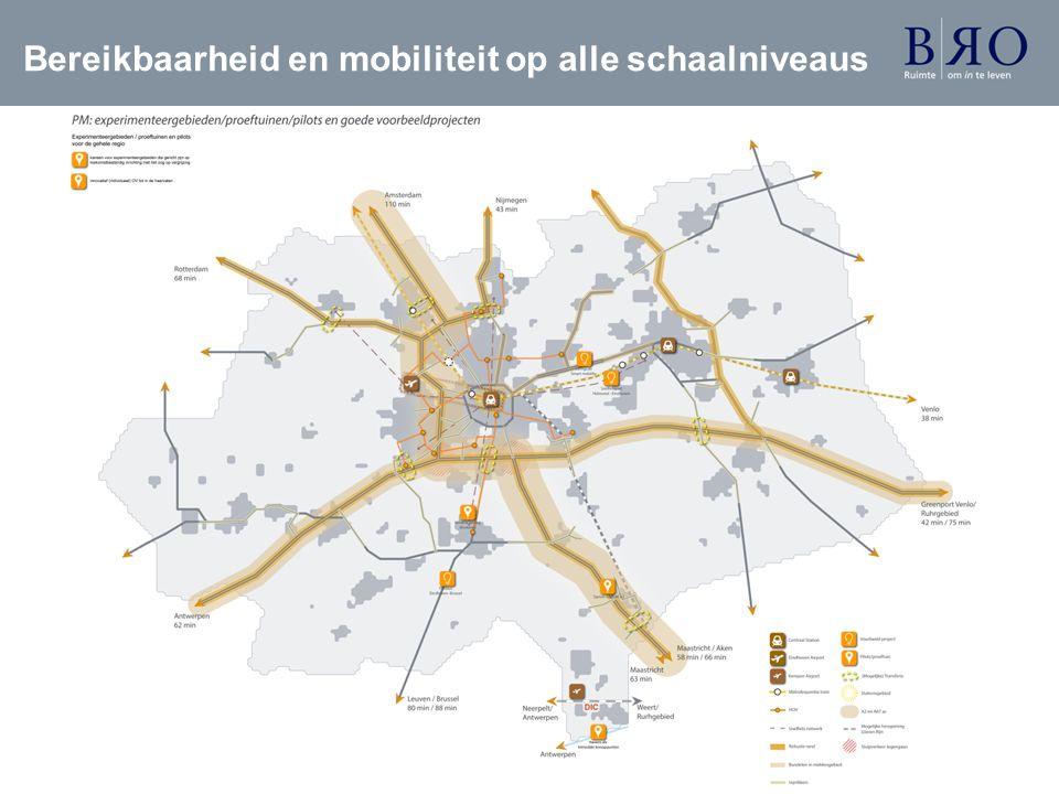 Bereikbaarheid en mobiliteit op alle schaalniveaus