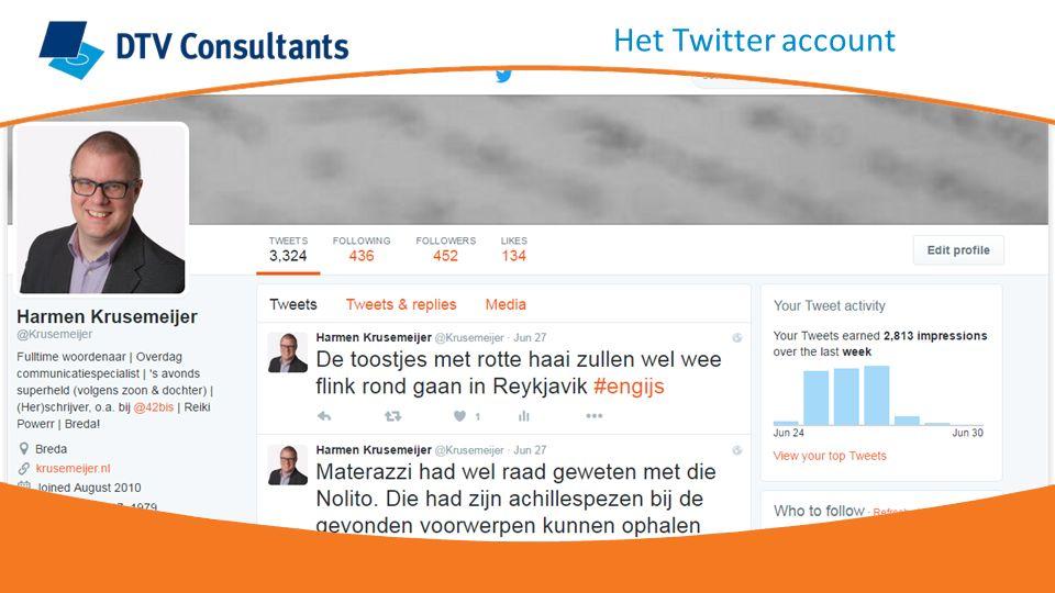 'Favourite': een 'like' geven aan een Tweet De andere gebruiker krijgt notificatie van de favourite