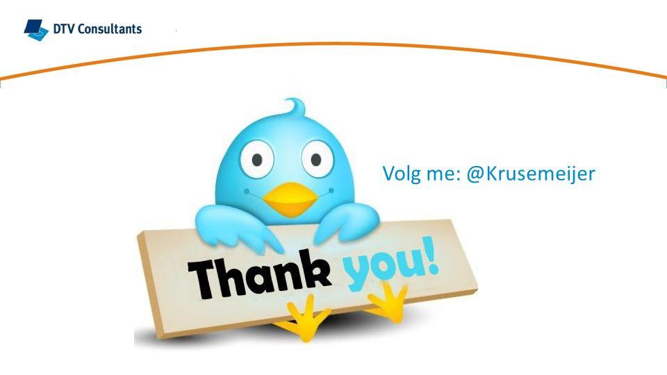 Volg me: @Krusemeijer