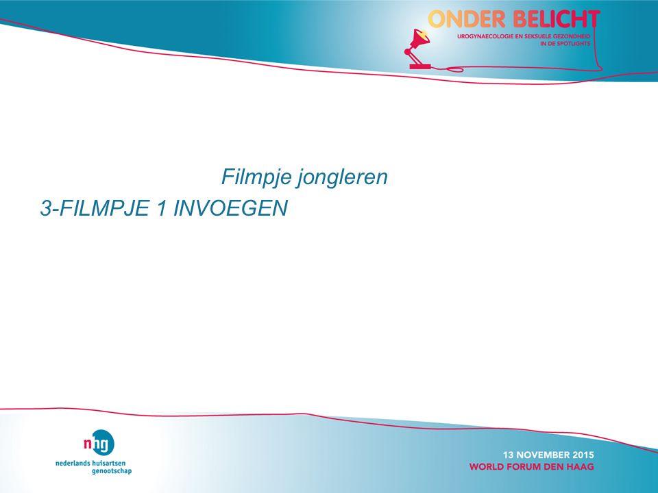 Filmpje jongleren 3-FILMPJE 1 INVOEGEN