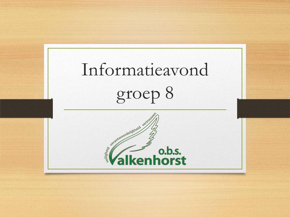 Voorlichting V.O.Informatie via leerlingen(folders/brieven) Voorlichtingsavonden V.O.