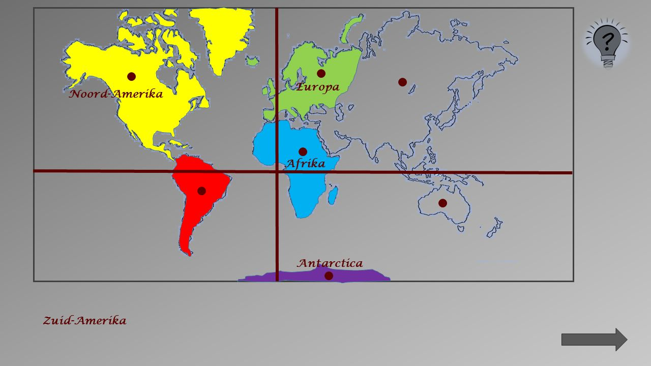 Antarctica Afrika Noord-Amerika Europa