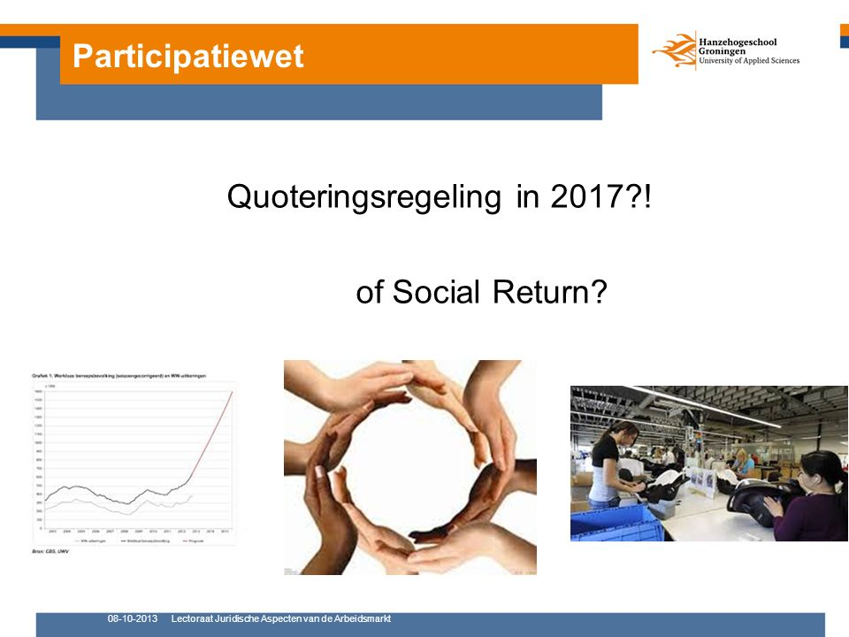 Participatiewet Quoteringsregeling in 2017 . of Social Return.