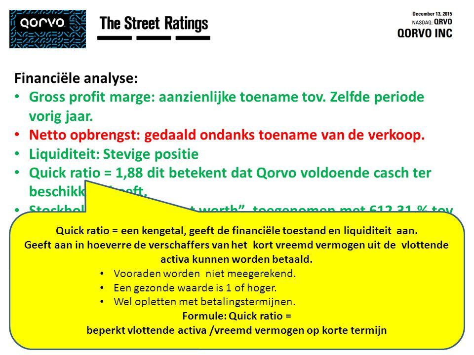 35 Dirk Willems / Marc Swaenen – Beleggingsclub 't Galerijke – Turnhout – 15 december 2015 Financiële analyse: Gross profit marge: aanzienlijke toename tov.