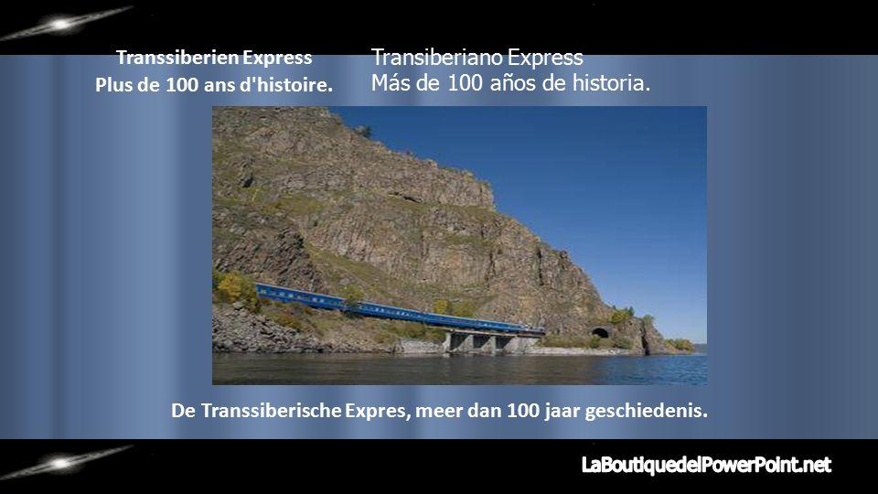 Chemin de fer Transsi-bérien dans son trajet Mos-cou à Pékin, il est le point haut, sur le tronçon du lac Baïkal, 33 200 ponts et tun-nels.