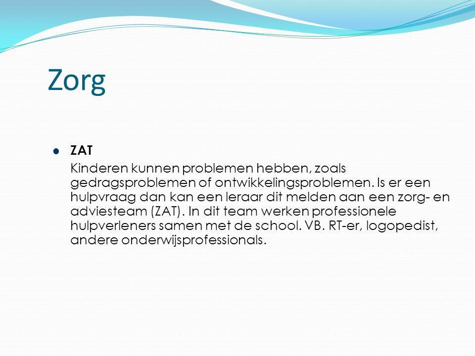 Zorg ZAT Kinderen kunnen problemen hebben, zoals gedragsproblemen of ontwikkelingsproblemen.
