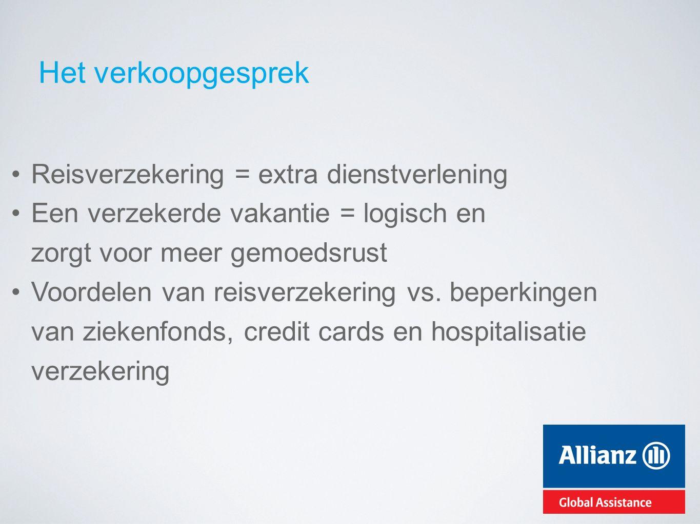 Wat maakt Allianz Global Assistance zo uniek.Ook je sportieve klanten worden beschermd (vb.