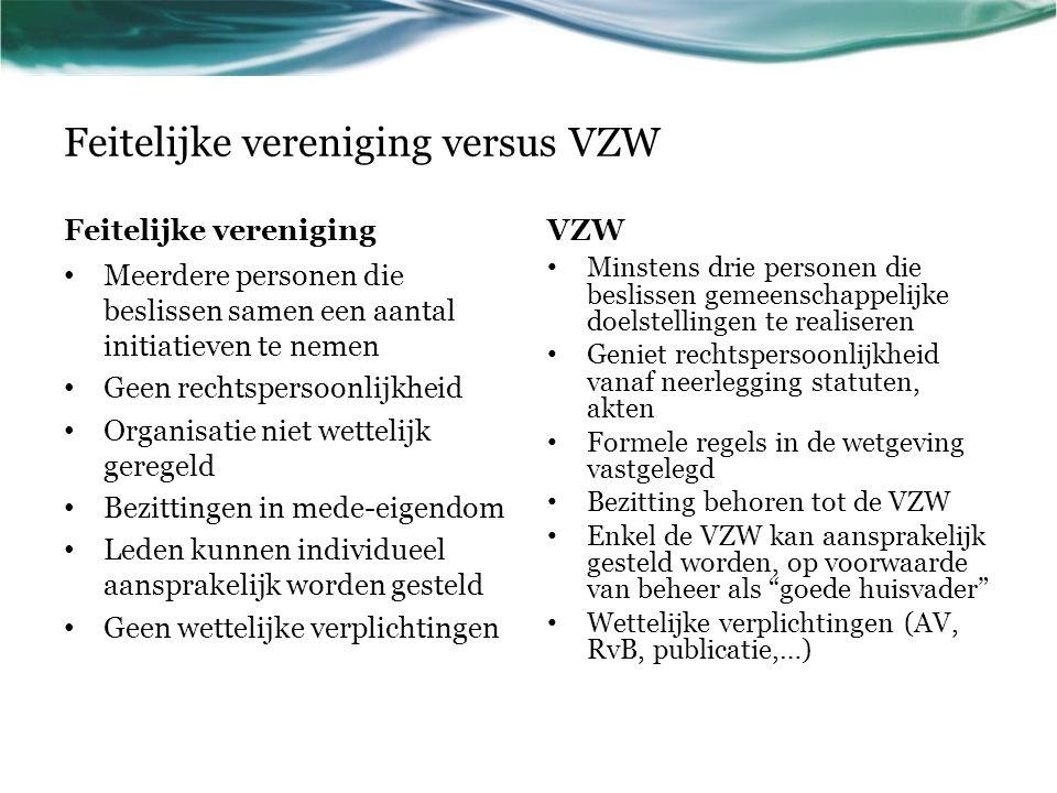 Hoe is de VVS georganiseerd.