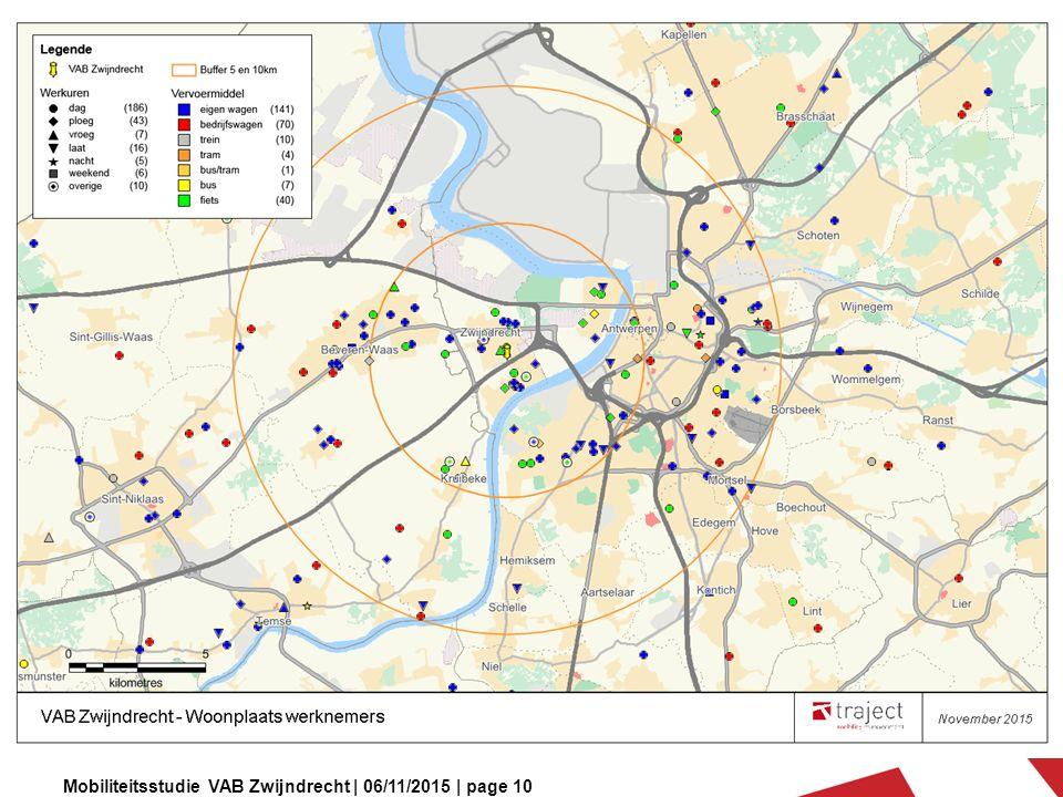 Mobiliteitsstudie VAB Zwijndrecht | 06/11/2015 | page 10