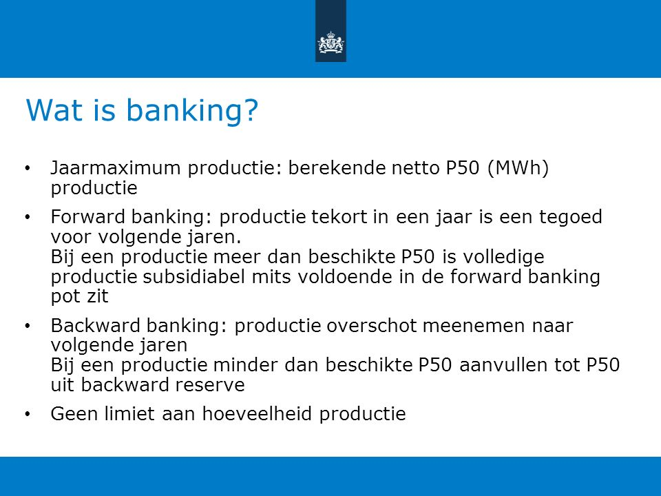 Wat is banking.