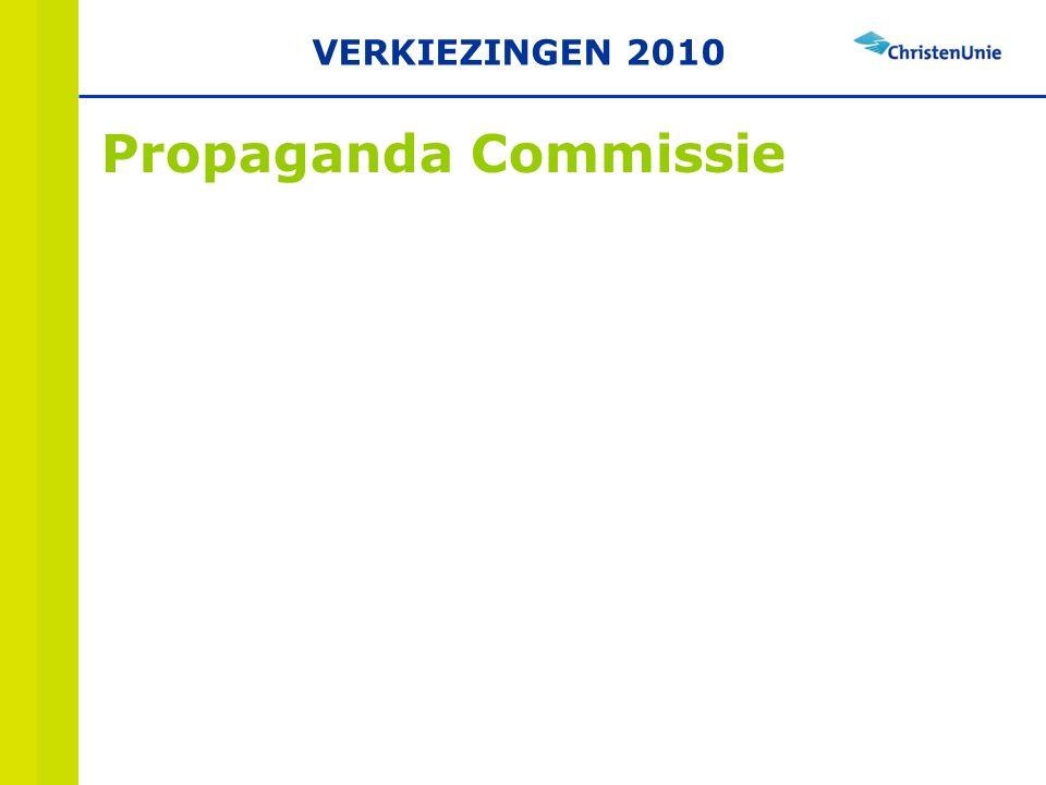 Propaganda Commissie VERKIEZINGEN 2010
