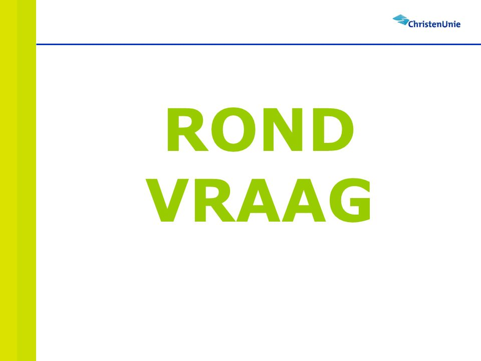 ROND VRAAG