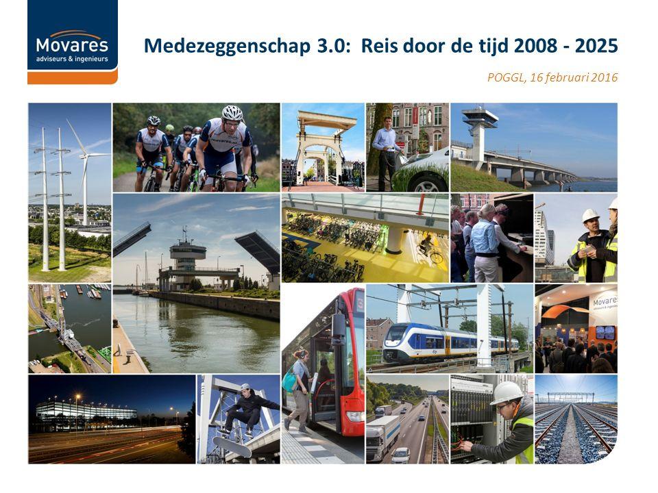 POGGL, 16 februari 2016 Medezeggenschap 3.0: Reis door de tijd 2008 - 2025