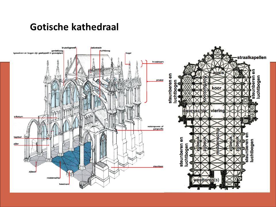 Gotische kathedraal
