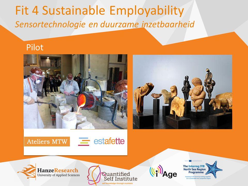 Fit 4 Sustainable Employability Sensortechnologie en duurzame inzetbaarheid Pilot
