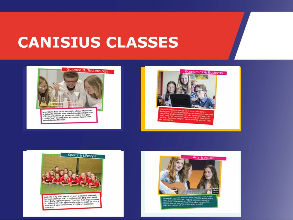 CANISIUS CLASSES