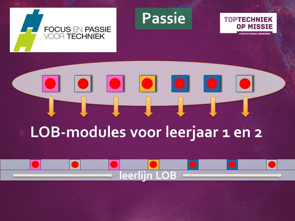 LOB-modules voor leerjaar 1 en 2 leerlijn LOB Passie