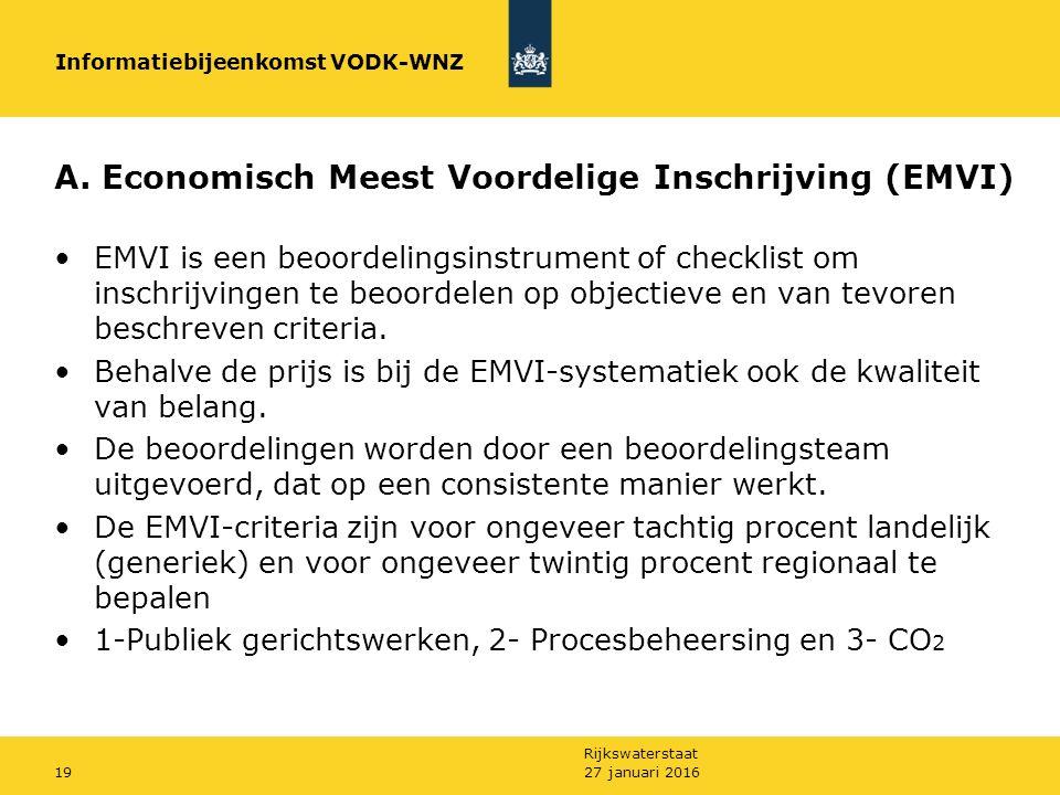 Rijkswaterstaat A.