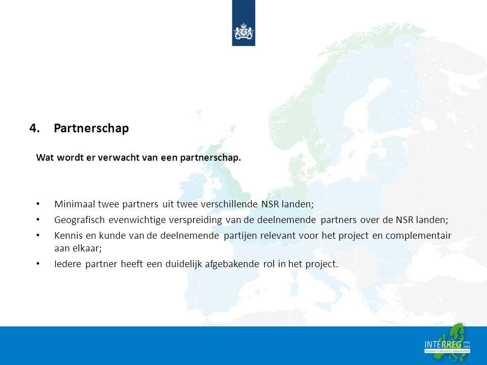 4.Partnerschap Wat wordt er verwacht van een partnerschap.