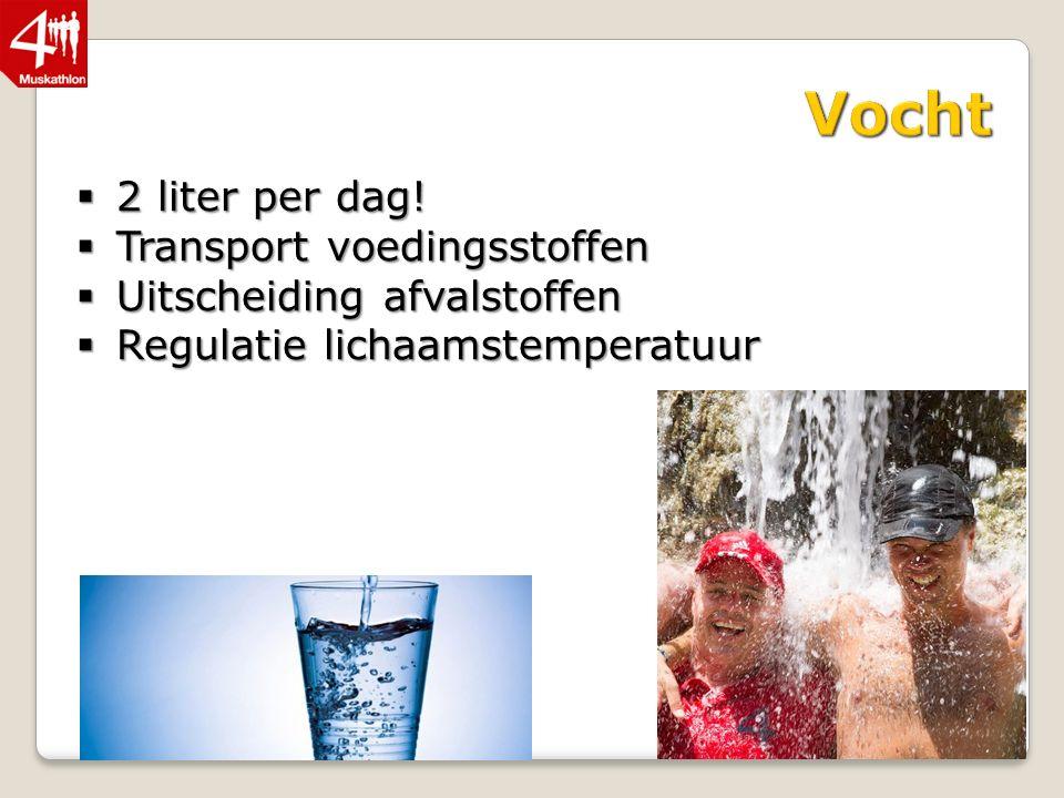  2 liter per dag.
