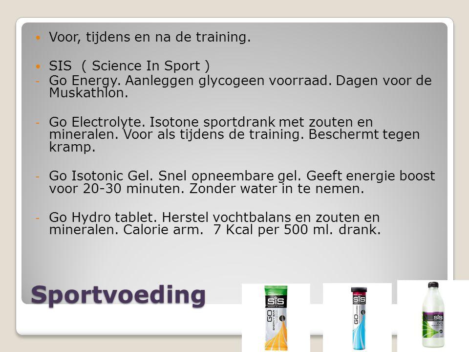 Sportvoeding Voor, tijdens en na de training. SIS ( Science In Sport ) - Go Energy.