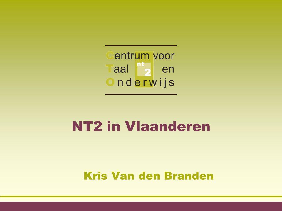 NT2 in Vlaanderen Kris Van den Branden