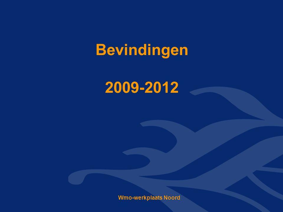 Bevindingen 2009-2012 Wmo-werkplaats Noord