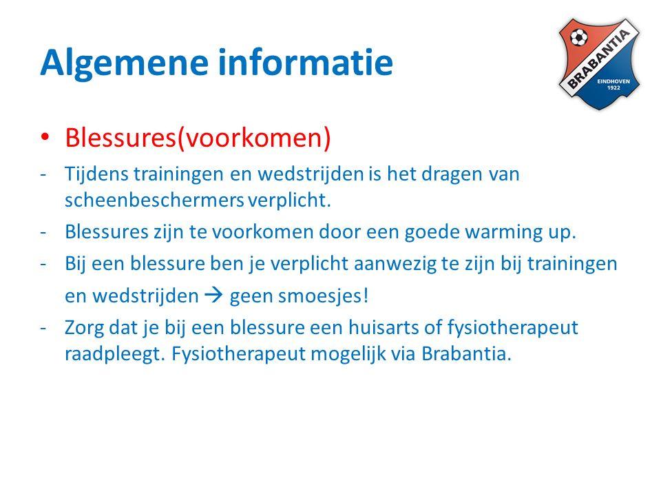 Doelstelling binnen Brabantia = opleiden en doorstromen van eigen (selectie)jeugd naar selectie.