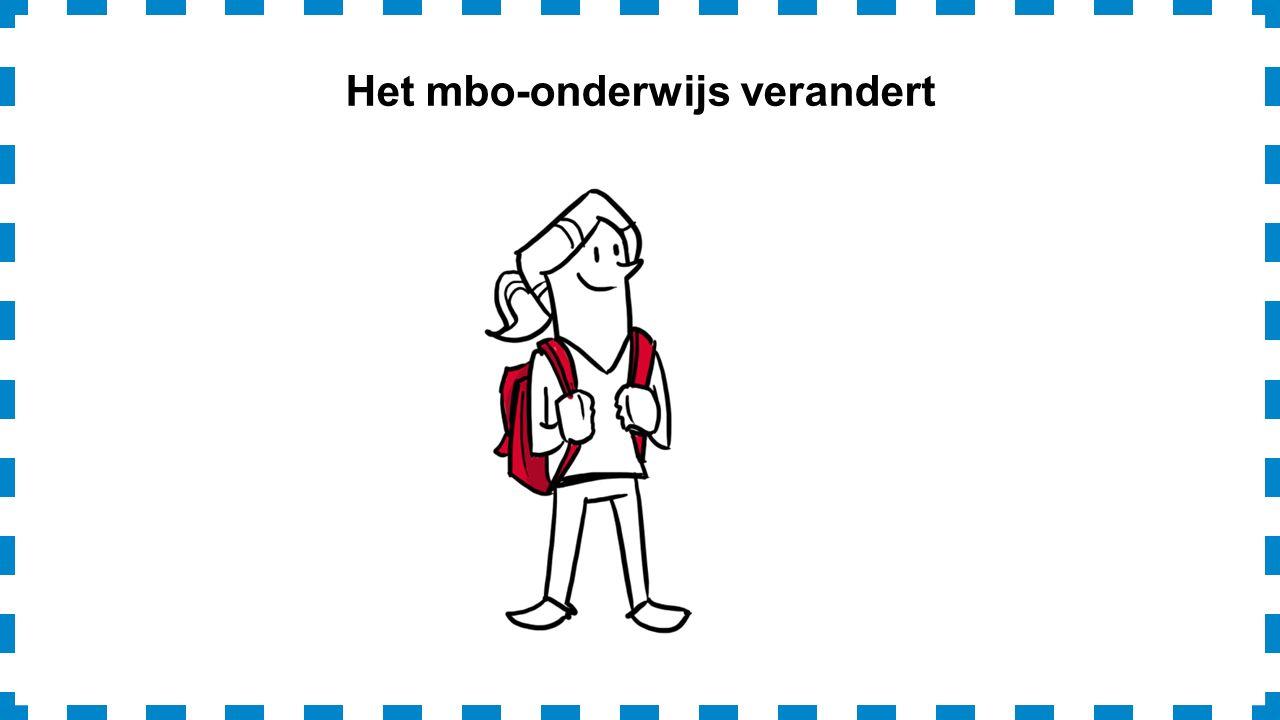 Het mbo-onderwijs verandert