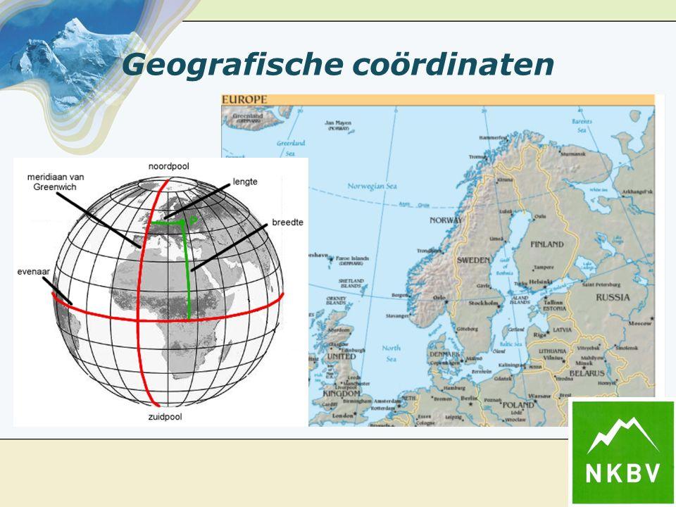 Geografische coördinaten