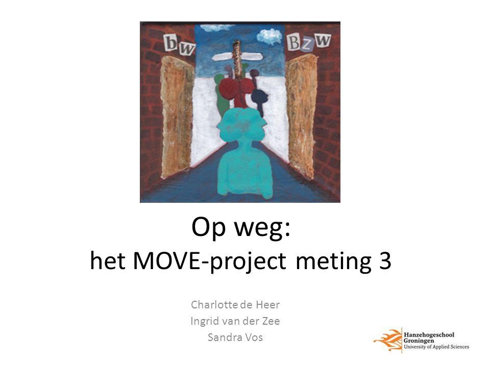 Op weg: het MOVE-project meting 3 Charlotte de Heer Ingrid van der Zee Sandra Vos