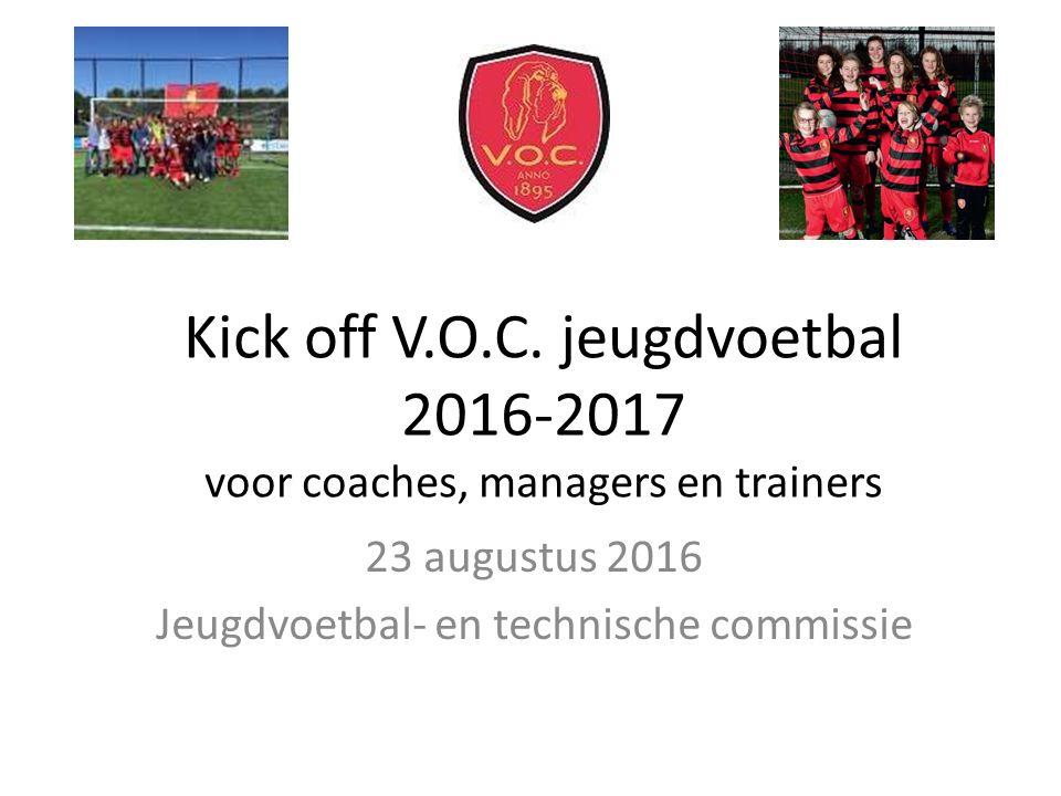Kick off V.O.C.