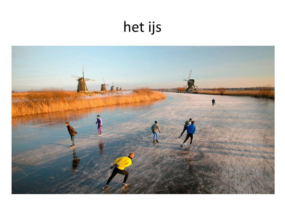 het ijs