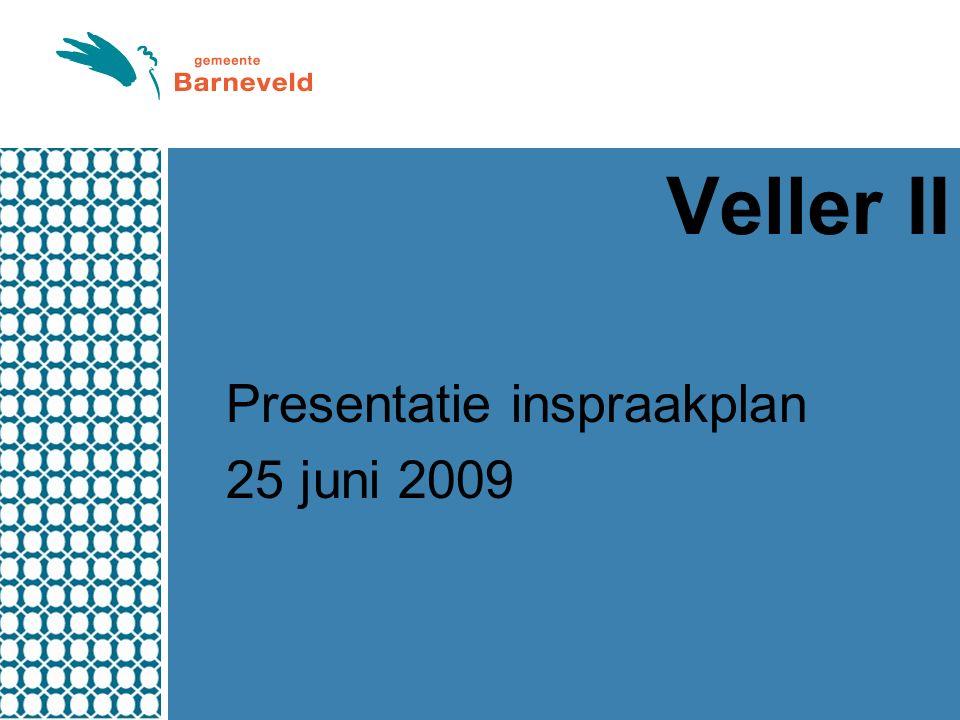Veller II Presentatie inspraakplan 25 juni 2009
