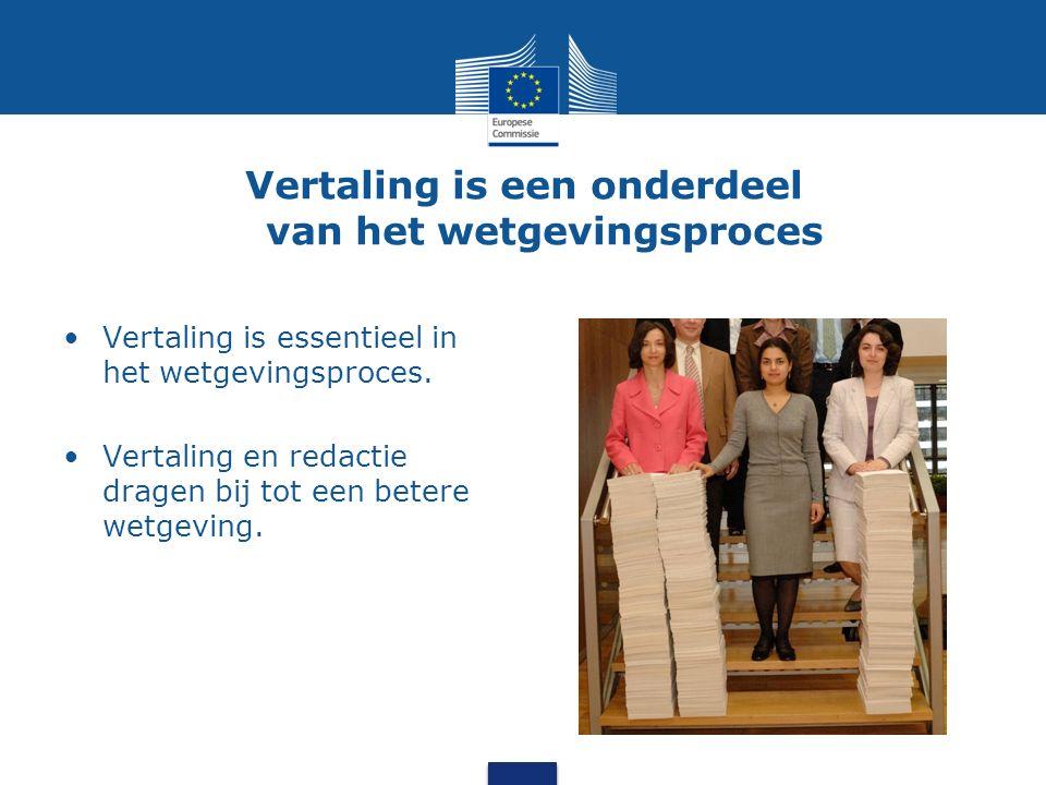 Vertalen voor democratie Vertaling zorgt ervoor dat mensen mee kunnen bouwen aan de Europese Unie.