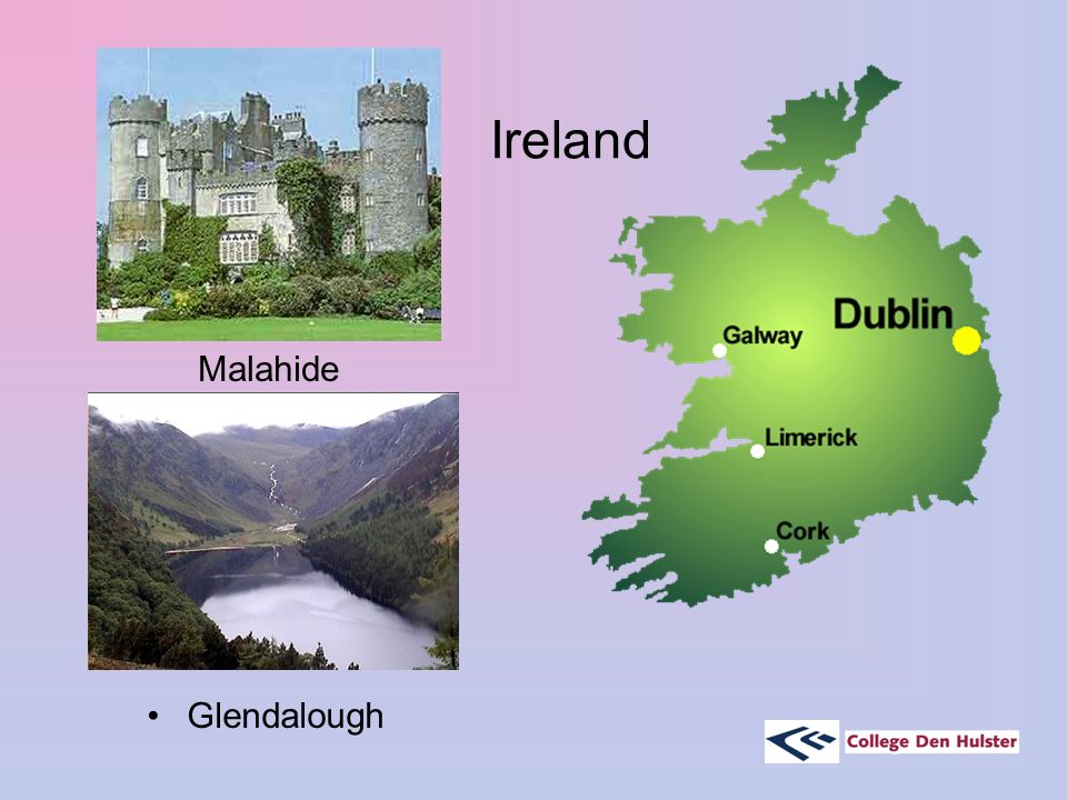 Ireland Malahide Glendalough