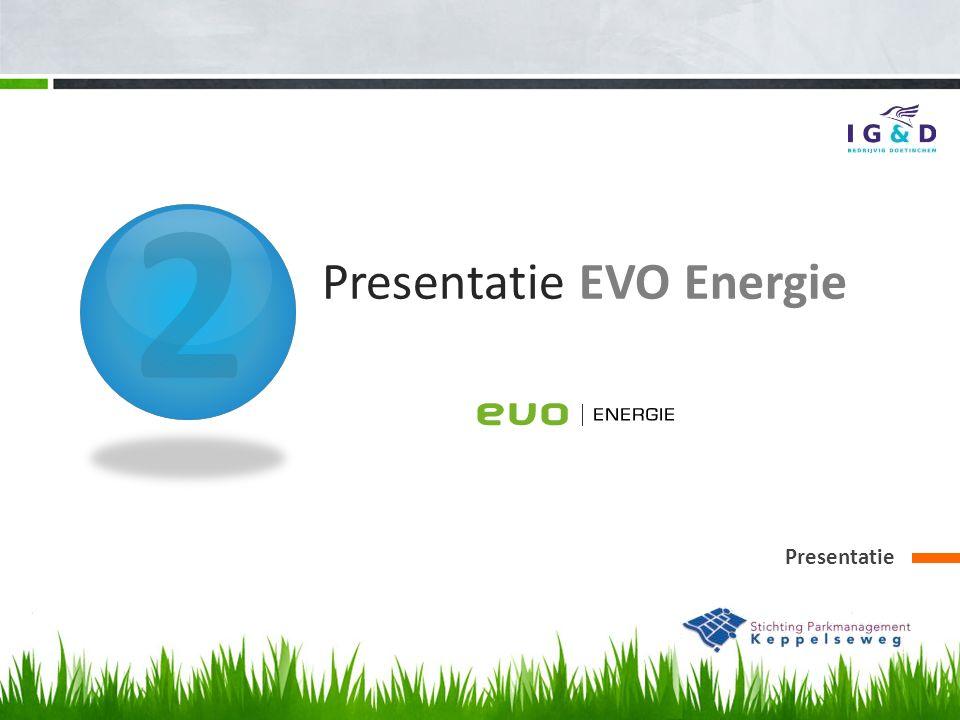 2 Presentatie EVO Energie Presentatie
