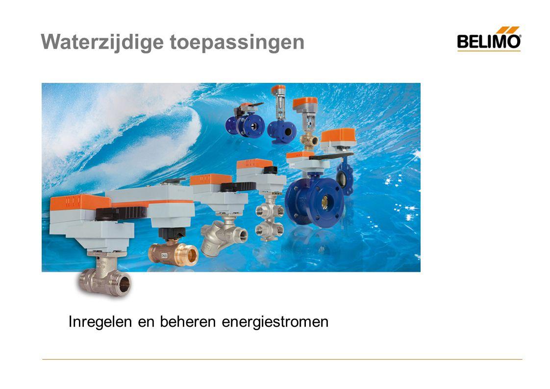 Inregelen en beheren energiestromen Waterzijdige toepassingen