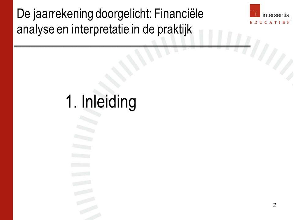 Schulden op meer dan één jaar Inhoud –Schulden met een contractuele looptijd van meer dan één jaar.