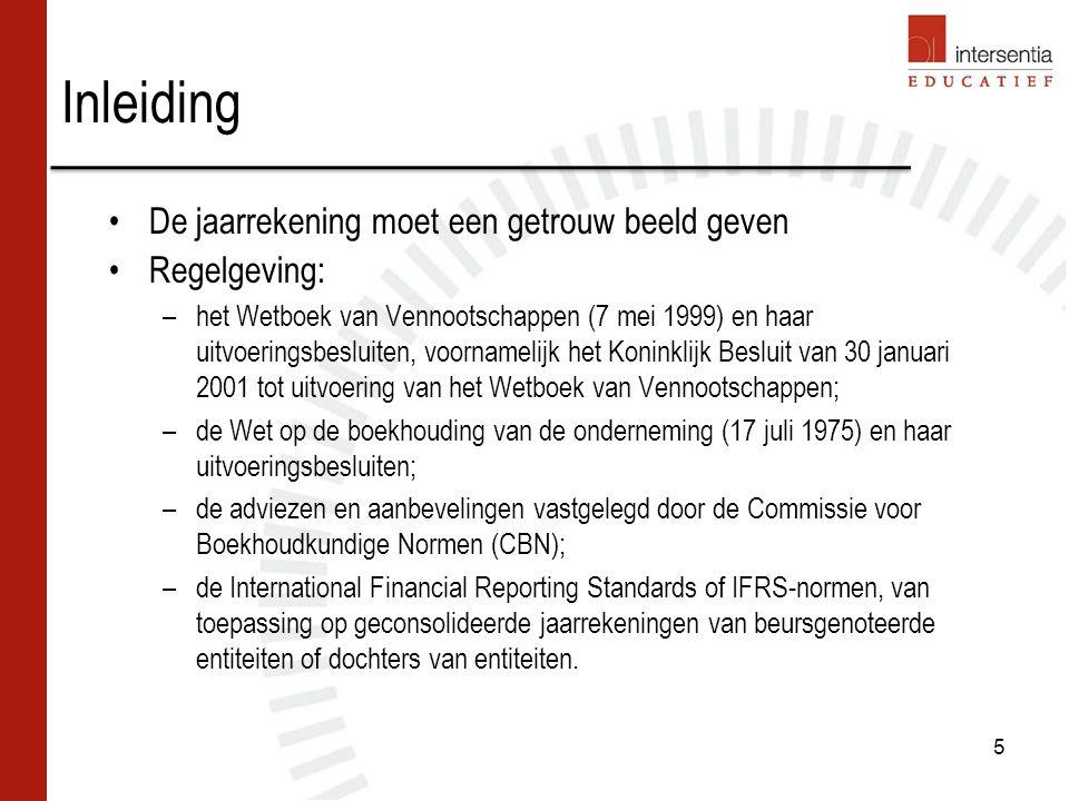 Inhoud –Omvat de resultaten die nog geen definitieve bestemming hebben gekregen vanwege de algemene vergadering.