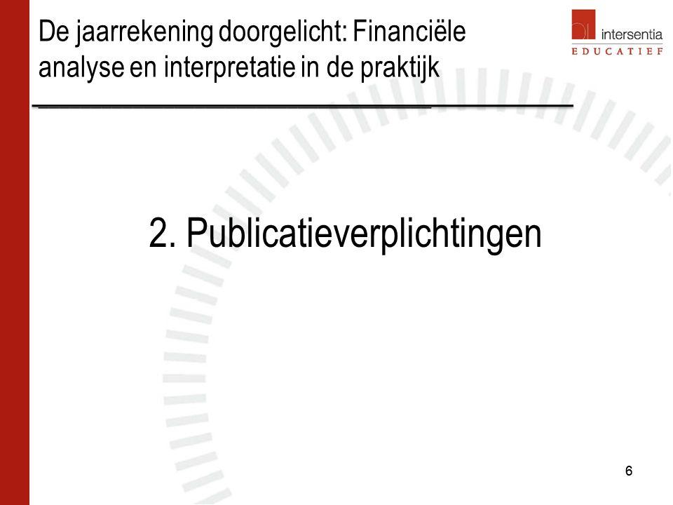 Inhoud –Kapitaalsubsidies die van overheidswege werden verkregen met het oog op investeringen in vaste activa met eigen vermogen, na aftrek van de uitgestelde belastingen op deze subsidies (indien toegekend voor 1 jan.2006) –Geleidelijk in resultaat, volgens hetzelfde ritme als de afschrijvingen.