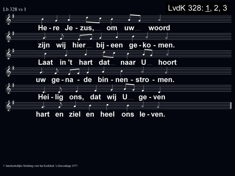 LvdK 328: 1, 2, 3
