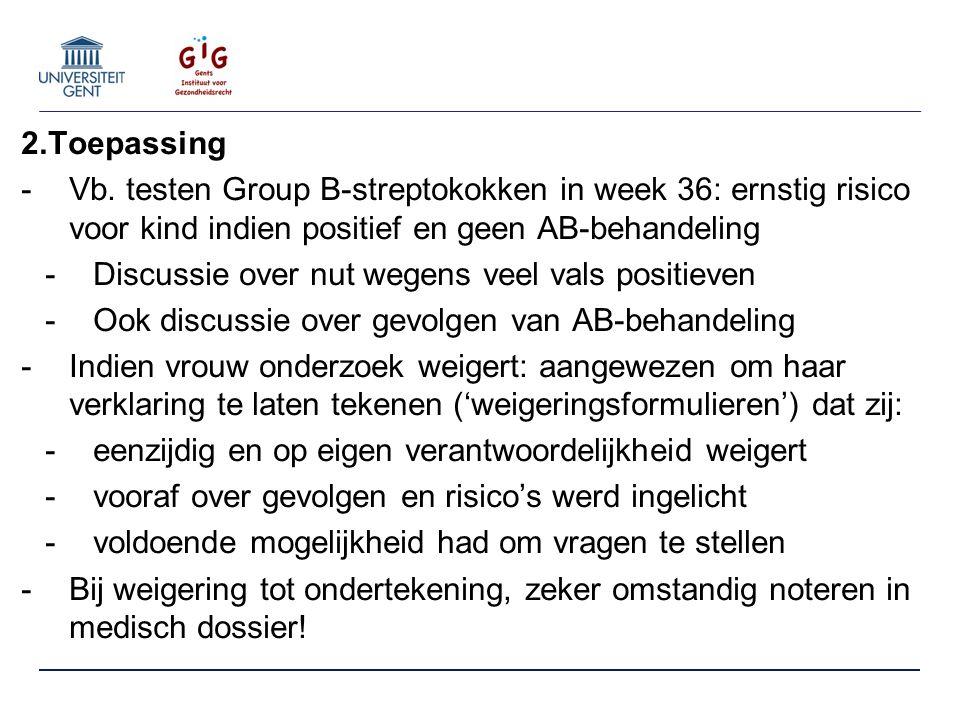 2.Toepassing -Vb.