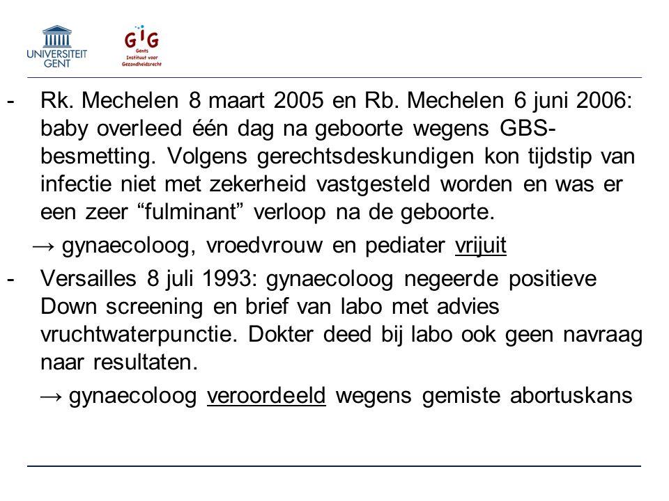 -Rk. Mechelen 8 maart 2005 en Rb.