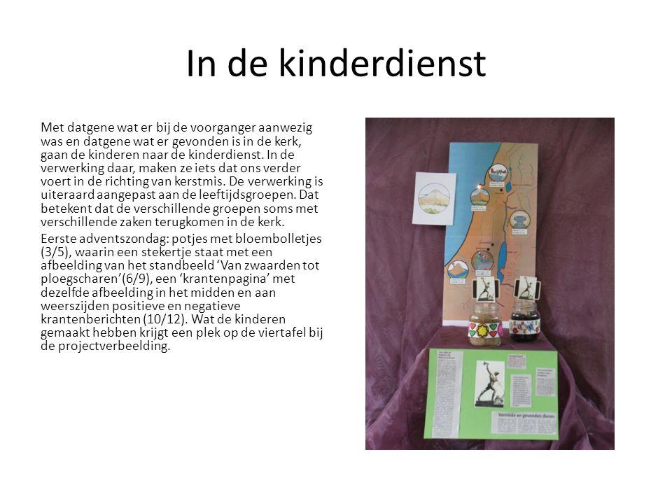 Verkrijgbaar bij dit project: Los nummer Bonnefooi € 17,50 Poster set met project CD € 17,50 Omslagen voor de liturgie € 9,75 (per 100) Voor kleine cadeautjes zie www.kinderdienst.nl